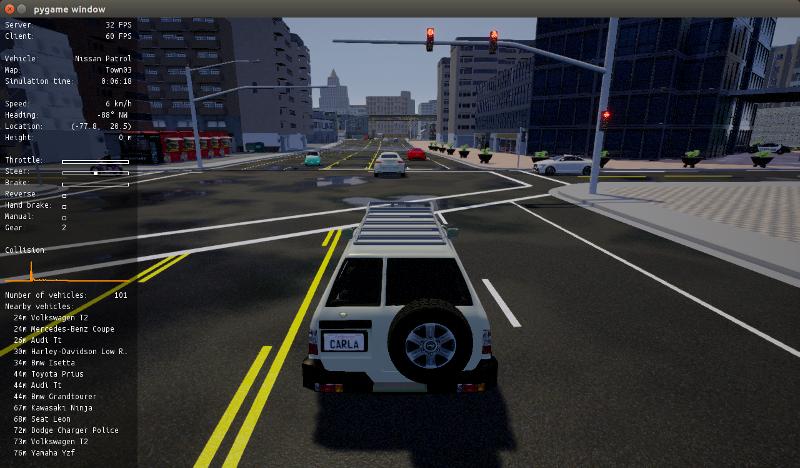 Getting started - CARLA Simulator